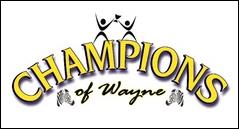 Champions of Wayne logo